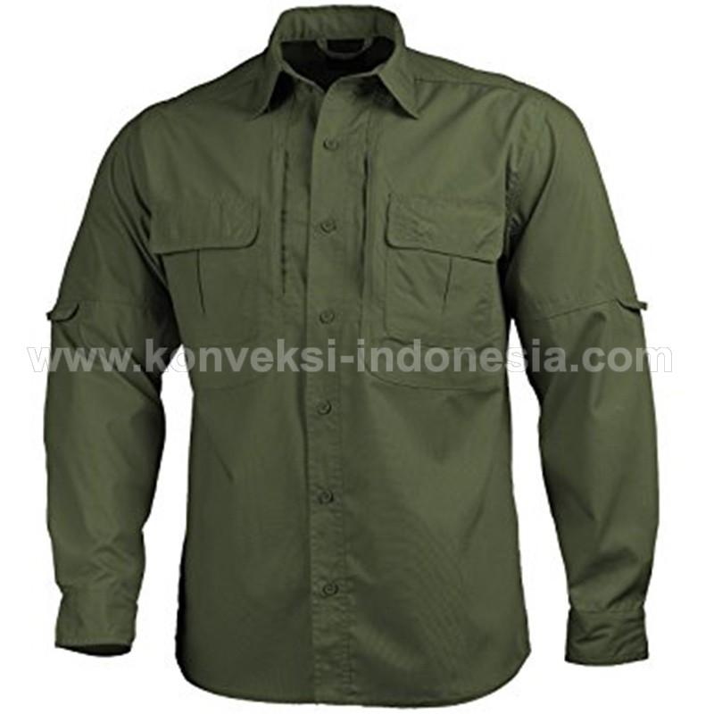 Kemeja » Baju Kemeja Lapangan 1 • GRETO Uniform