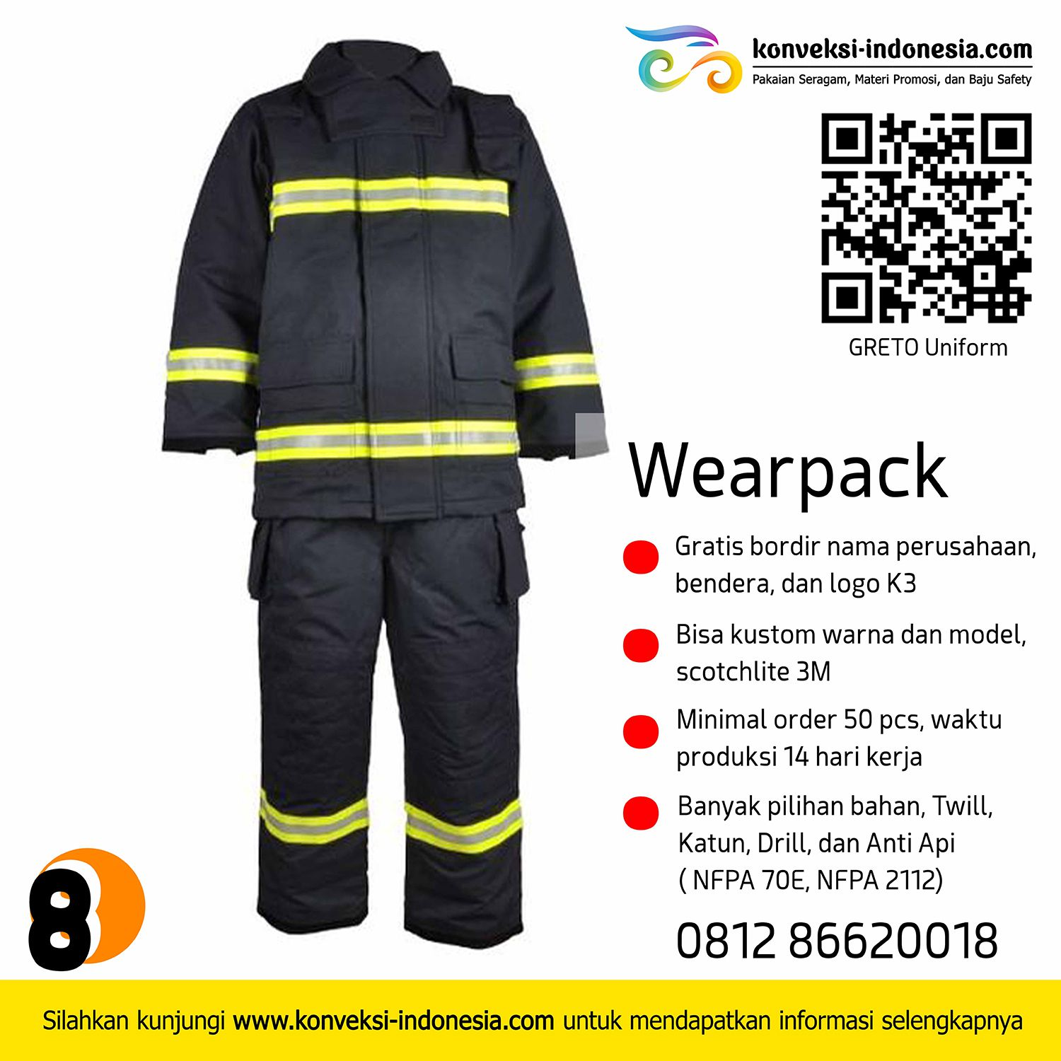 wearpack flame retardant, konveksi wearpack jakarta, wearpack anti api, wearpack coverall, wearpack tambang, greto uniform, baju wearpack, wearpack safety, pabrik wearpack, wearpack NFPA 70E, wearpack NFPA 2112, supplier wearpack, vendor wearpack, konfeksi wearpack, konveksi coverall, konveksi baju tambang, baju wearpack safety, vendor baju safety, baju safety jakarta, wearpack jakarta, wearpack bandung, wearpack bengkel, konveksi coverall, konveksi jakarta, baju tambang, baju lapangan.