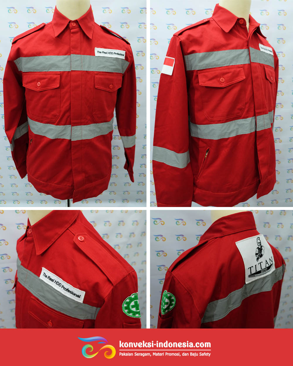 wearpack tambang safety